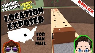 Roblox - Lumber Tycoon 2 - Mein Standort ausgesetzt! [Fan-Mail]