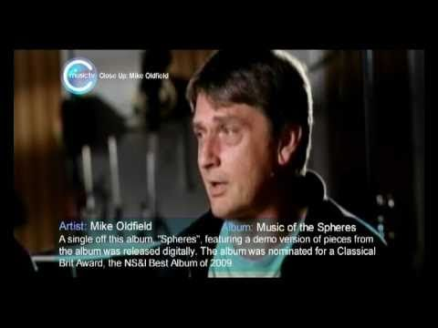 Mike Oldfield Music of the Spheres Interview on C Music TV