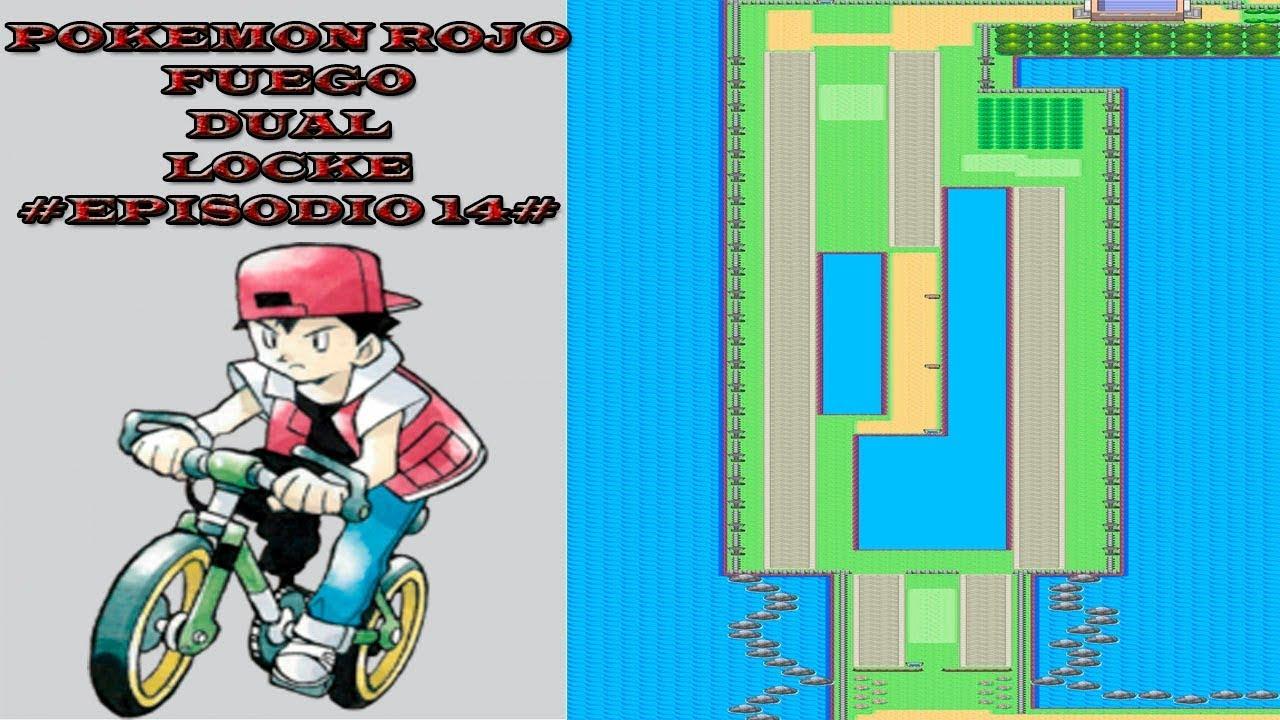 Pokemon Rojo Fuego Dual Locke 14 Captura De Snorlax Y Camino De Bicis Youtube