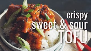 CRISPY SWEET & SOUR TOFU | hot for food