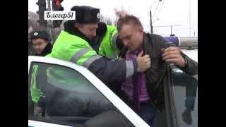 Пьяный водитель (предположительно, сотрудник ФСО) в Мурманске