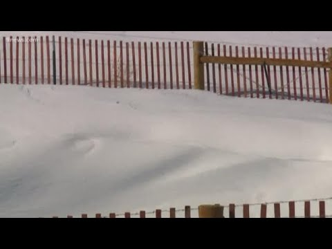 Snow fences play major role during blizzards