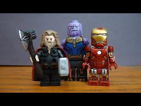 Infinity Wars--End Game Thanos Custom  Mini Fig!