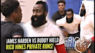 james-harden-activates-hoodie-james-goes-at-it-w-buddy-hield-at-rico-hines-runs