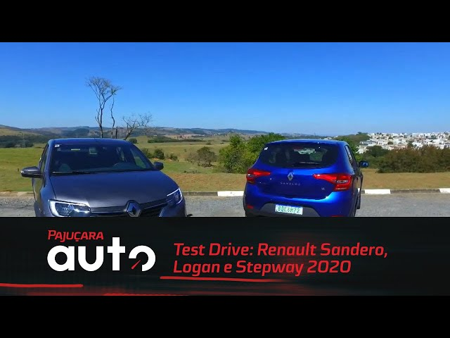 Test Drive: Renault Sandero, Logan e Stepway 2020