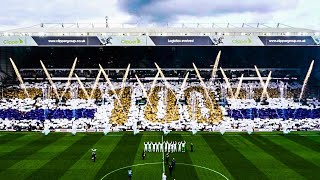 35,000 LEEDS FANS SING CENTENARY RENDITION OF MARCHING ON TOGETHER AT ELLAND ROAD | 2019/20