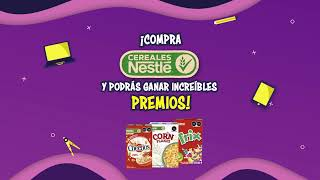Participa en la promoción de Cereales Nestlé ® y gana increíbles premios