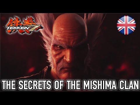 TEKKEN 7 – The Secrets of The Mishima Clan Paris Games Week Announcement Trailer // 1080p