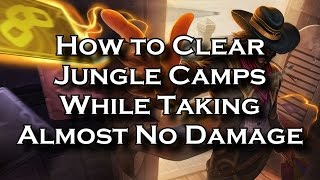 How to Clear Jungle Camps While Taking Almost No Damage   League of Legends LoL