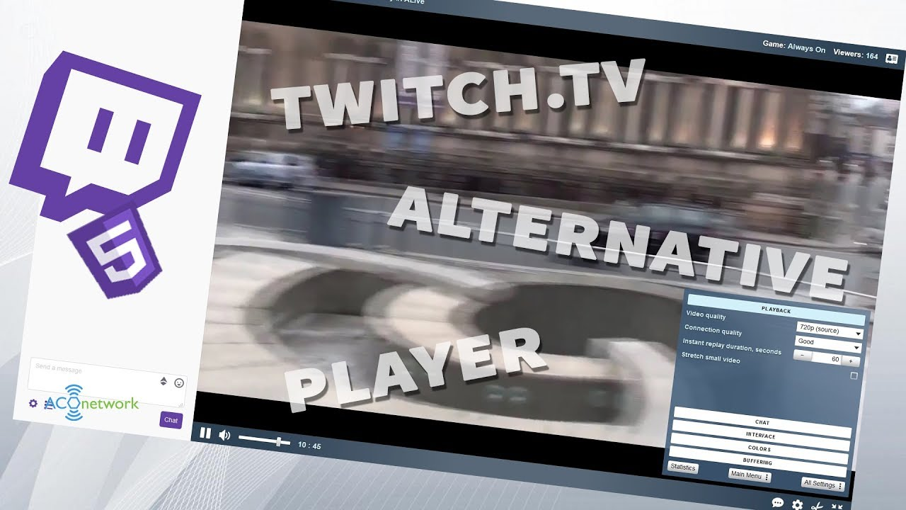 Alternative way to watch Twitch streamer on Firefox and Chrome