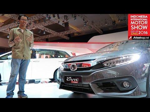 FI Review Honda Civic Turbo Indonesia from IIMS 2016