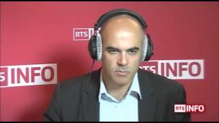 L'invité de la rédaction - Alain Berset, Conseiller fédéral
