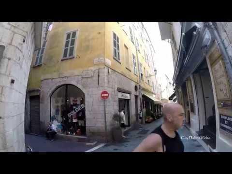 La Rue DROITE Dans Le Vieux-Nice. Visite Guidée.