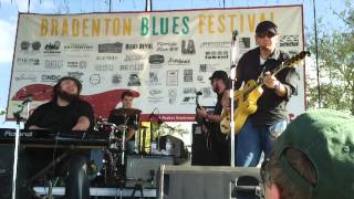 "Southern Hospitality plays ""Gypsy Woman"" at Bradenton Blues Festival"