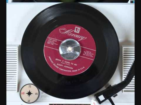 Buddy Johnson - Bring it home to me