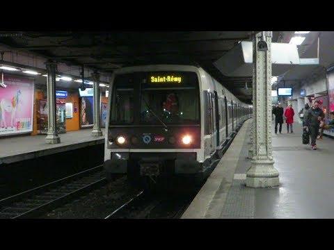 [Paris] MI79 RER B - Denfert-Rochereau (train court)