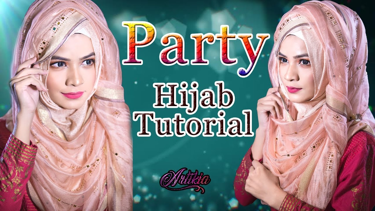 Hijab Style 2018 For Party