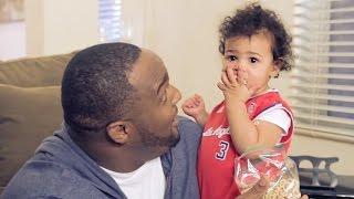 Glen 'Big Baby' Davis Babysits Babies