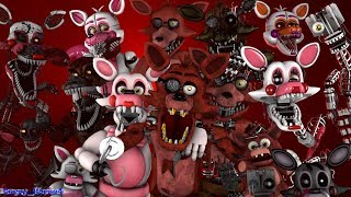 All Foxys Sing Fnaf Song