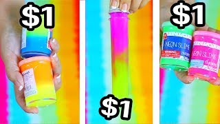 $1 vs $1 vs $1 Slime - Cheapest Slime Bought in Stores Ever !