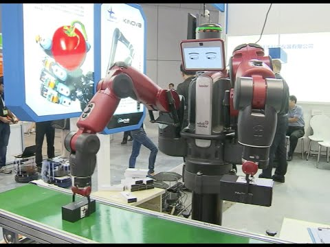 Robot Show: Industrial Robots Expected to Tackle Manufacturing Labor Shortages