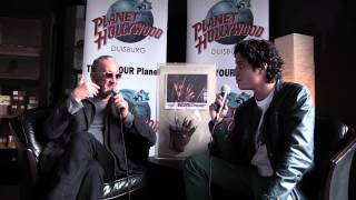 Planet Hollywood Duisburg - Interview with Robert Englund 2013