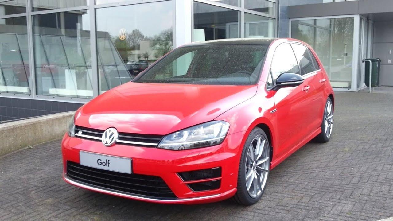 Golf 7 red