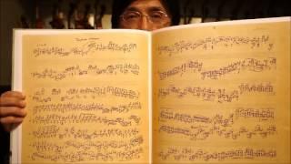 無伴奏・ヴァイオリン・ソナタ・バルトーク・自筆譜・ファクシミリ・出版