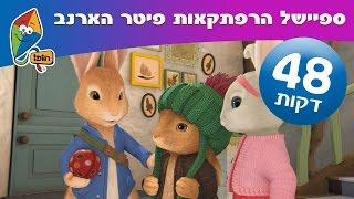 הרפתקאות פיטר הארנב - ספיישל  4 פרקים ברצף - הופ! לגדול בידיים טובות