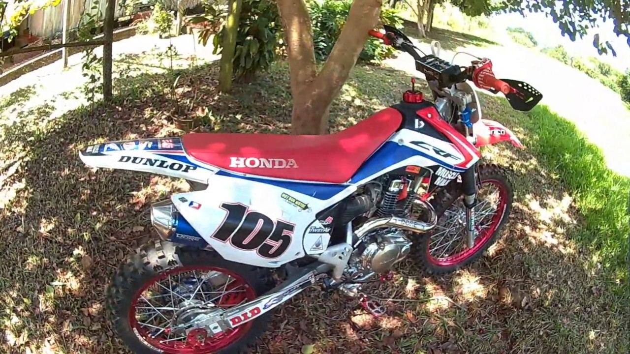 TOP SPEED CRF150F - YouTube