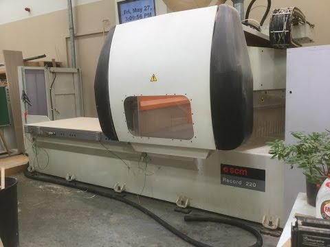Used SCM Record 220 CNC Router For Sale| Scott+Sargeant Woodworking Machinery