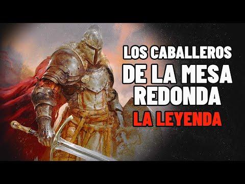 Los Caballeros De La Mesa Redonda / El Rey Arturo / La Leyenda de La Espada / el mago merlin