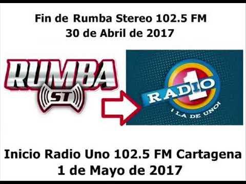 Fin de la Emisora Rumba Stereo Ahora Radio 1 Cartagena 102 5 FM