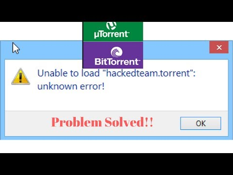How To Fix Unable to load (TORRENT Name) -...