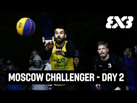 LIVE 🔴 - FIBA 3x3 Tinkoff Moscow Challenger 2018 - Day 2 - Moscow, Russia
