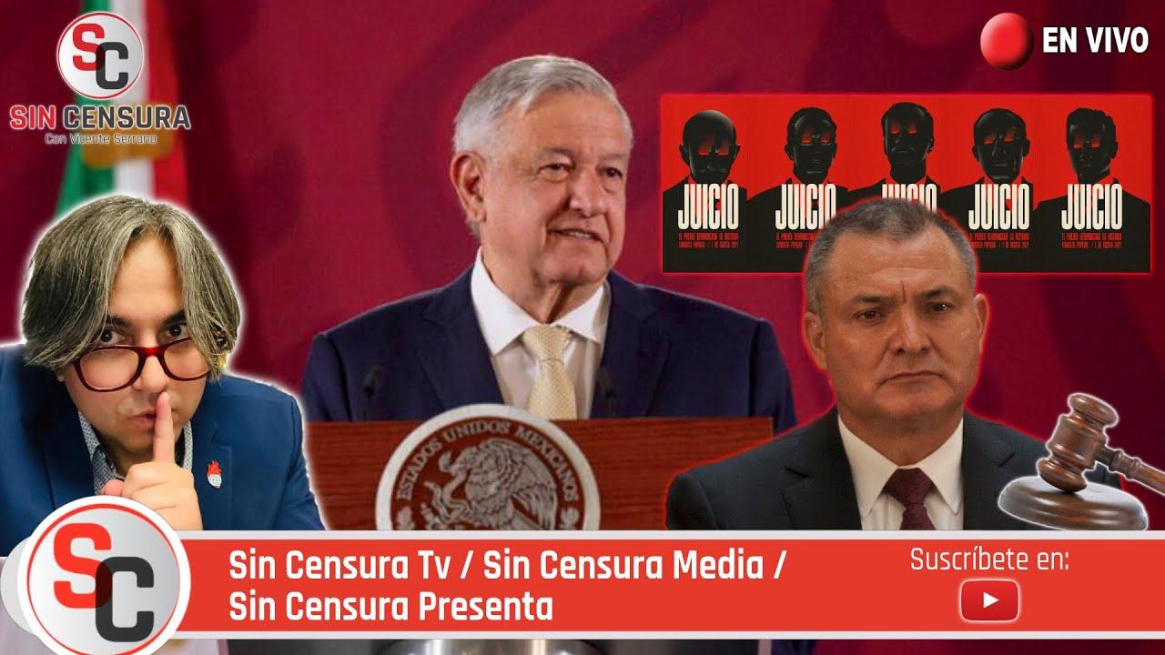 #MAÑANERA #AMLO - Hallan todavía más pruebas en #EEUU contra #GarcíaLuna y por eso #JuicioSí 27/7/21