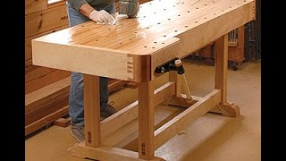 Workbench Plans Step By Step  - How To Build A Workbench Plans, Instructions, Blueprints, Diagrams