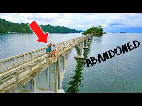 Abandoned Bridge on the Ocean - Dominican Republic