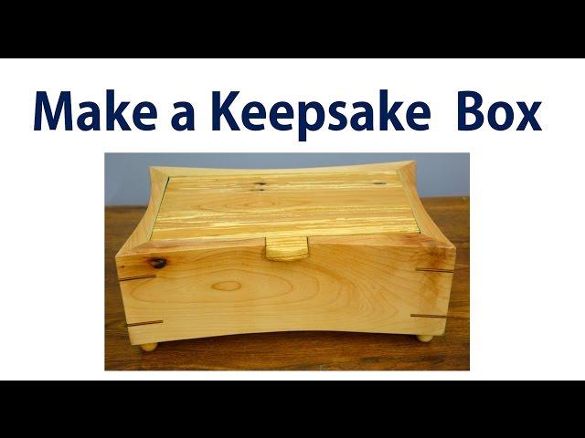 How to Make a Wooden Jewelry Box / Keepsake Box
