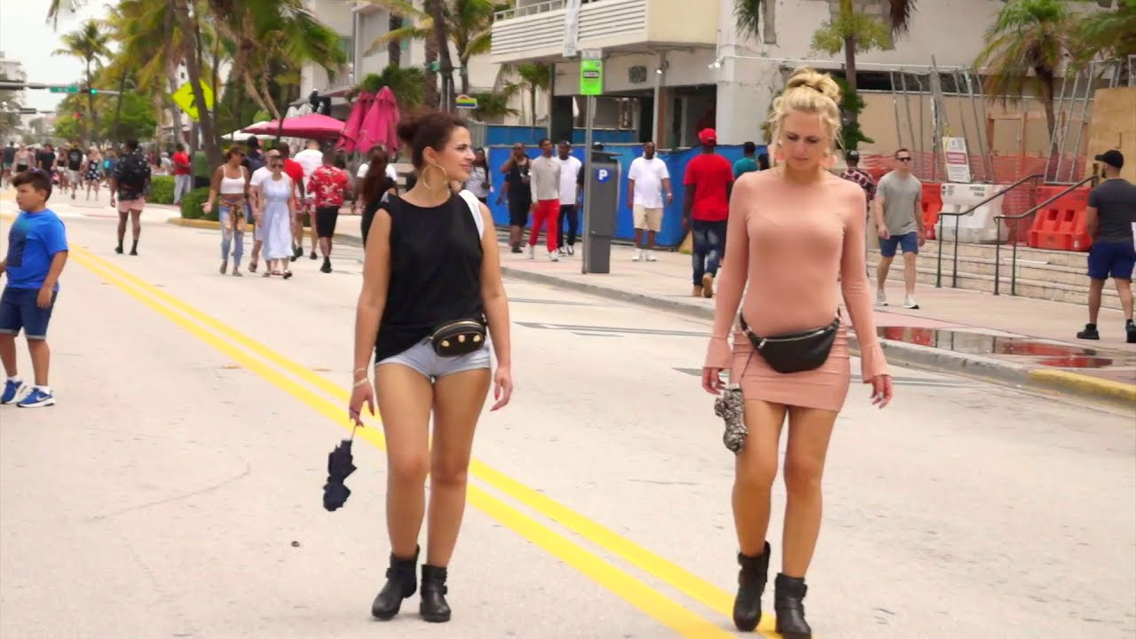 Sexy Black Women Conquered South Beach Again Memorial 2018 -7041