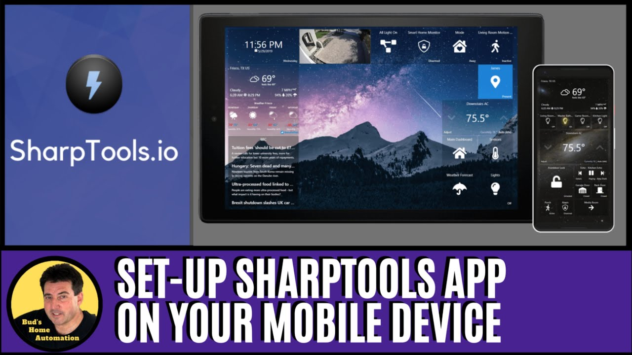 Get the SharpTools Dashboard on Your Mobile Devices