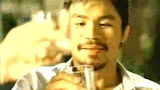 ginebra commercial 2009 junthy valenzuela mark caguioa manny pacquiao and aling dionisia