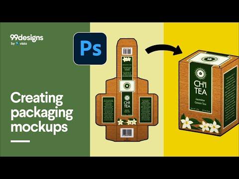 Creating Packaging Mockup Using Photoshop
