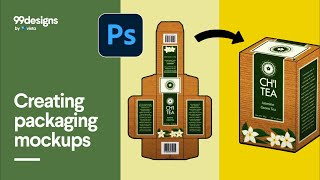 Creating Packaging Mockup using Photoshop