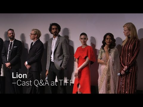 LION Cast Q&A: Dev Patel, Nicole Kidman, Priyanka Bose, Rooney Mara and more | TIFF 2016