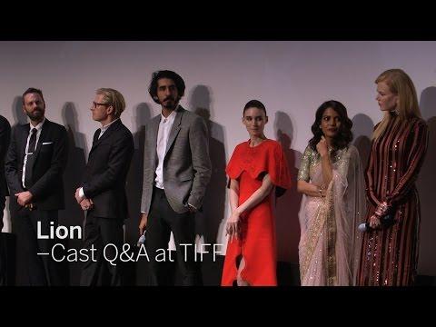 LION Cast Q&A: Dev Patel, Nicole Kidman, Priyanka Bose, Rooney Mara and more  TIFF 2016