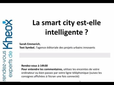 Rendez-Vous Expert Kheox : La smart city est-elle intelligente ?