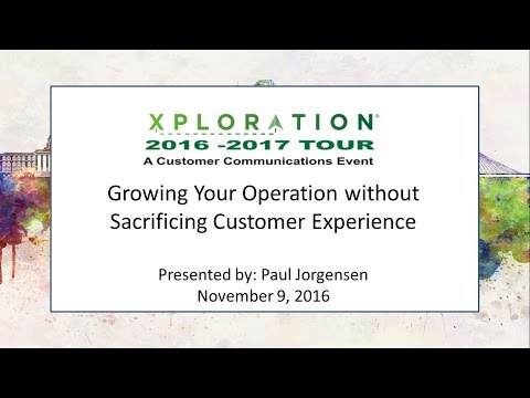Growing Your Operation without Sacrificing Customer Experience