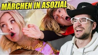 MÄRCHEN in ASOZIAL feat. Kelly | Julien Bam | REACTION