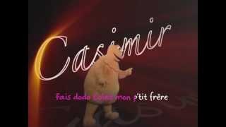 CASIMIR - Fais dodo (Karaoke)